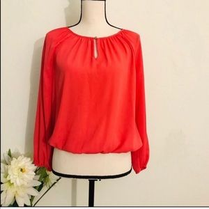 Vince Camuto Long Sleeve Blouse Size PS